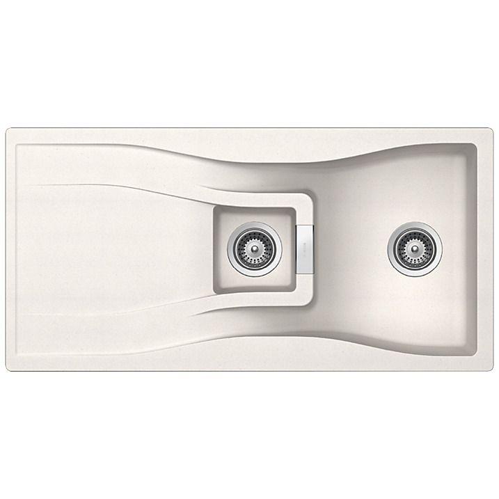 Schock Waterfall 1.5 Bowl Kitchen Sink, Polaris | Küchen | Pinterest ...