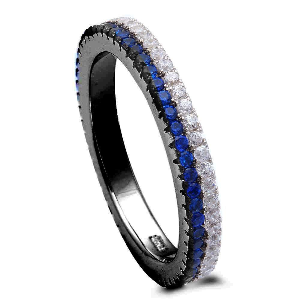 A Single 1.5mm Amazing DEEP BLUE Enhanced Natural SAPPHIRE!!!