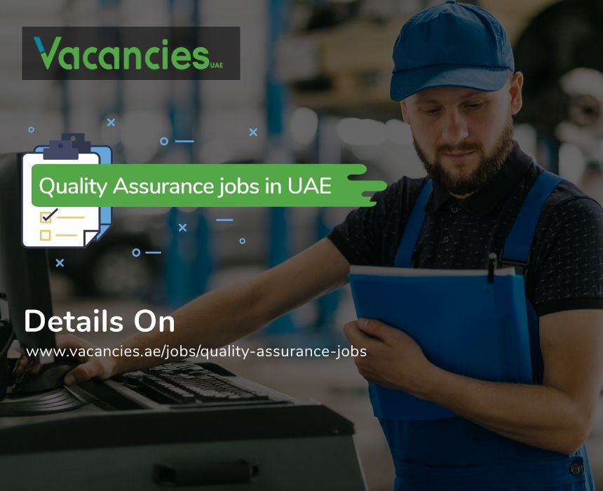 Latest Quality assurance jobs in uae. Experience, Entry