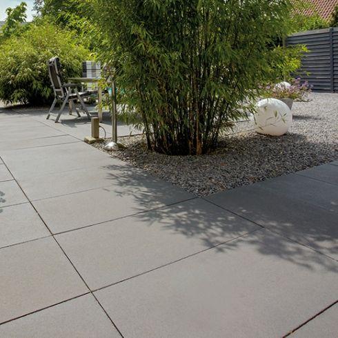 Senzo Carbon Terrassenplatten 02 | Garten~garden | Pinterest Ideen Einrichtung Der Gartenterrasse