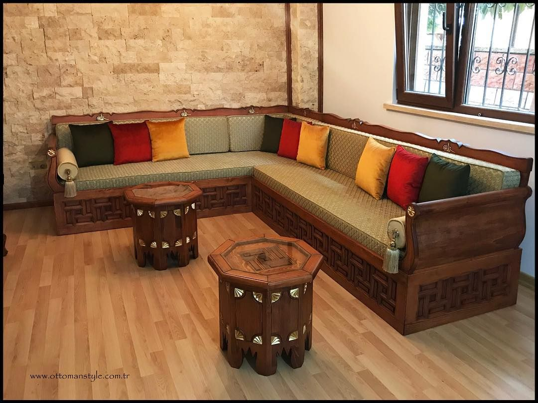314 Likes 32 Comments Ottoman Style Ottomanstyle On Instagram Cok Degerli Wooden Sofa Set Designs Living Room Sofa Design Modern Furniture Living Room