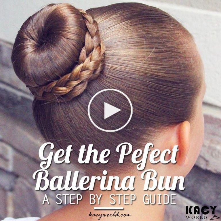 Un Guide Etape Par Etape Pour Obtenir Le Chignon De Ballerine Parfaite In 2020 Ballet Hairstyles Ballerina Bun Dance Hairstyles