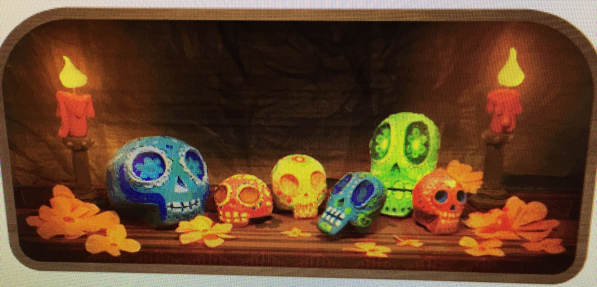 Pin by Eileen Lawrence on Day of the Dead Google doodles