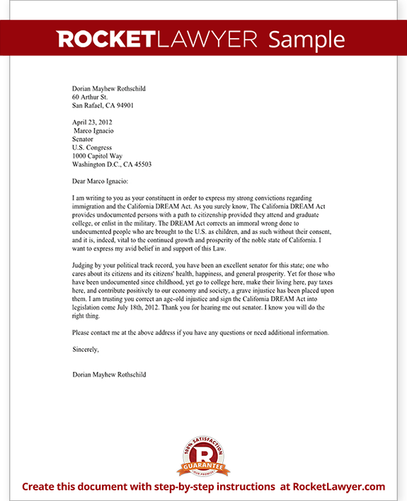Letter Government Official With Sample Format  Home Design Idea