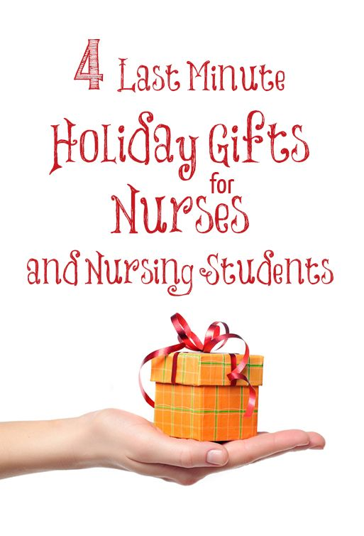 4 Last Minute Holiday Gifts for Nurses and Nursing ...