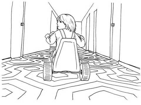 - Horror Colouring Pages Cine