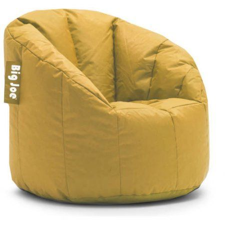Big Joe Milano Bean Bag Chair Xl Padded Zero Gravity With Canopy Multiple Colors Yellow Products In