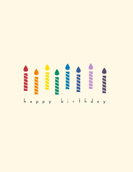 Simple Birthday Card By Jessica Deltoro Zangerle