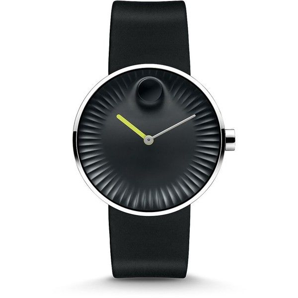 Movado Edge Stainless Steel Watch ($520) ❤ liked on Polyvore featuring men's fashion, men's jewelry, men's watches, apparel & accessories, multicolored, mens stainless steel watches, movado mens watches and colorful mens watches
