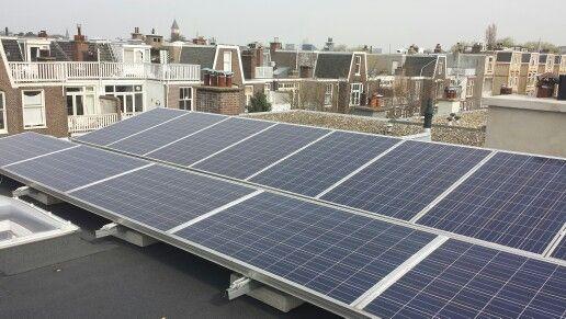 Platdak Landscape En Portrait In Combinatie Vd Valk Solar Den Haag Projecten