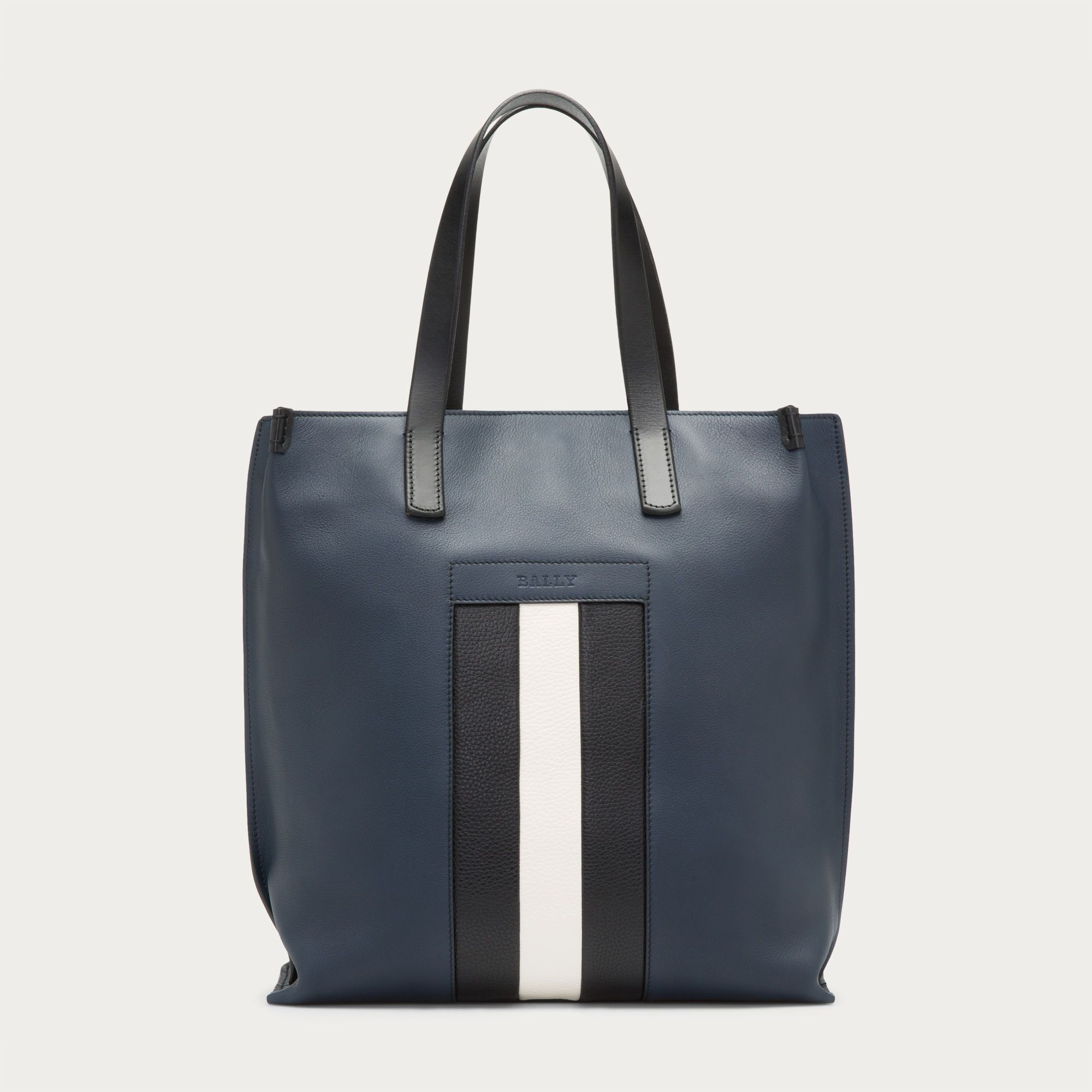 125c495003 Bally BLISSON - DARK NAVY 14 CALF Totes Mens Leather Tote Bag