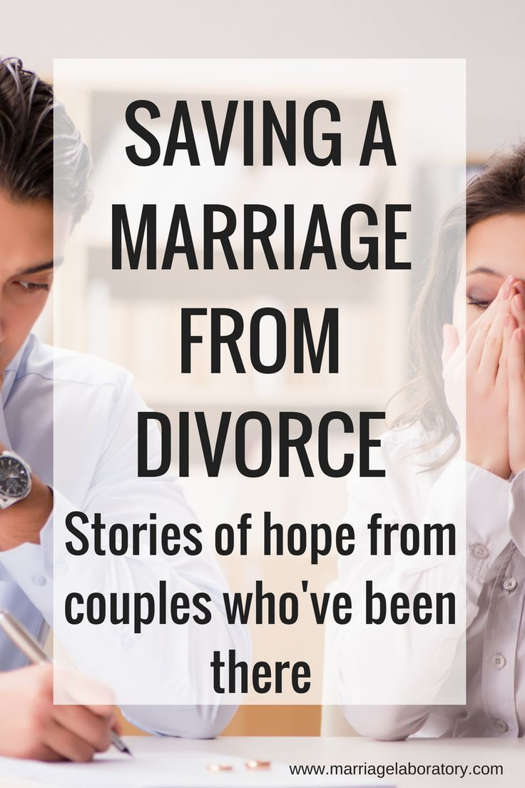Saving a Marriage From Divorce Saving a marriage