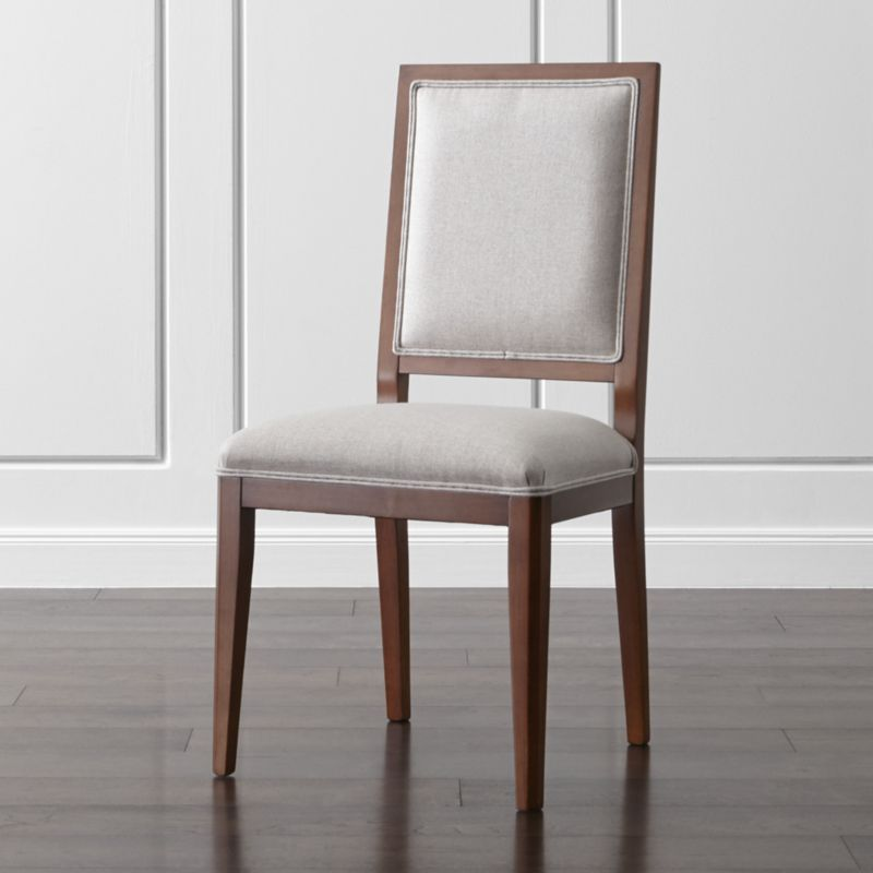 Sonata Aretina Walnut Dining Side Chair  Formal Dining Rooms Unique Single Dining Room Chairs Decorating Design