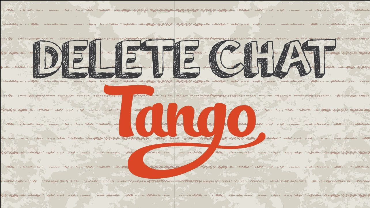 How to delete chat on Tango #tango #app #youtube #video #android