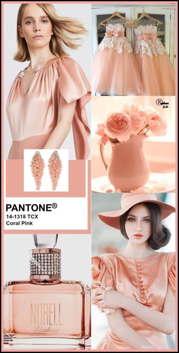 ''Coral Pink'' Pantone - Spring/ Summer 2020 Color- by Reyhan S.D.