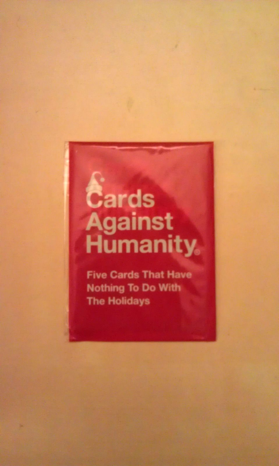 Cards against humanity day 11 five cards that have nothing