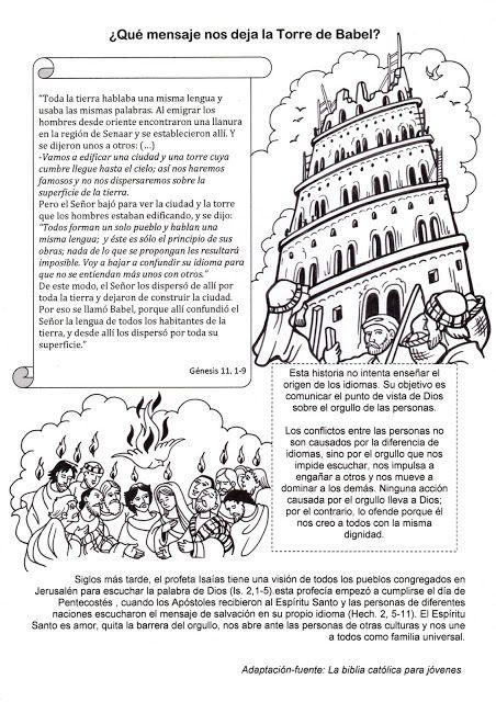 Pin De Rosanny Herrera En Estudio Biblico En 2020 Torre De Babel