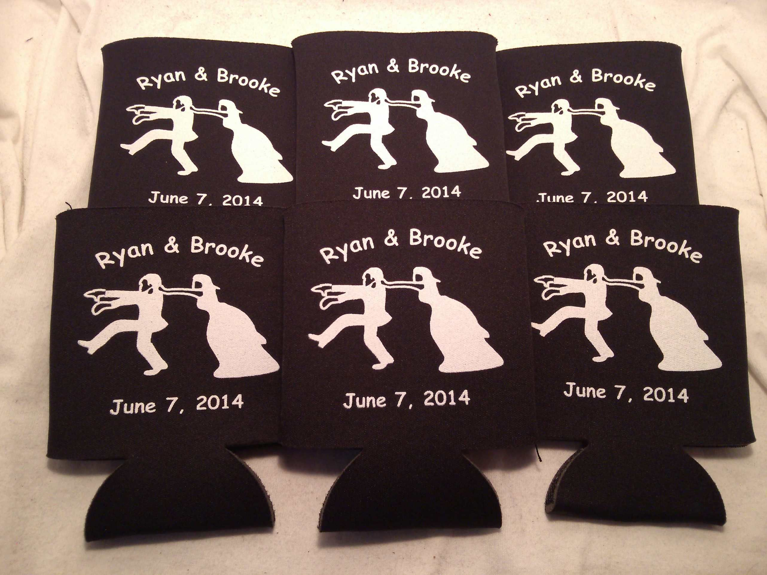 Wedding Koozies Custom Printed Are The Perfect Favors For Your Day