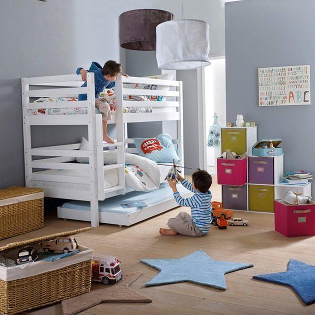 lit superpos modulable 1 personne maysar la redoute. Black Bedroom Furniture Sets. Home Design Ideas