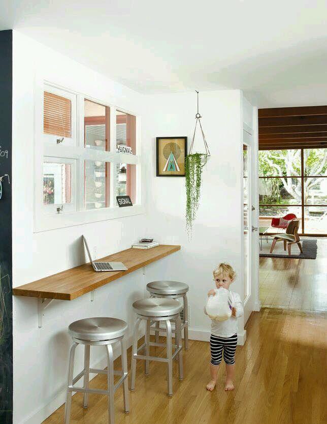 Desayunador apto bog 82m paredes de cocina barras de for Desayunador cocina comedor