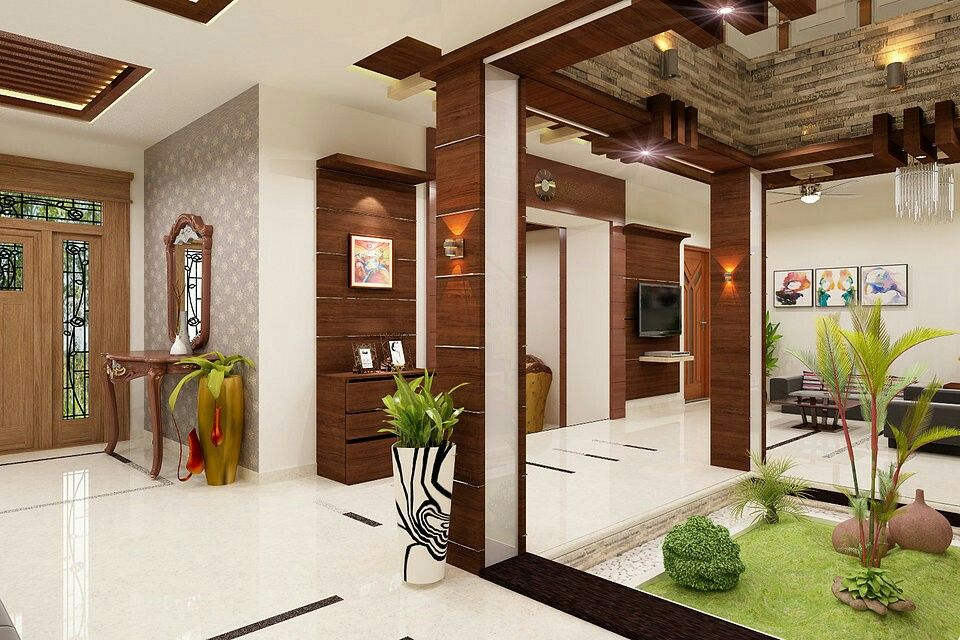 A soothing home to live in! | Kerala house design, Indian ...
