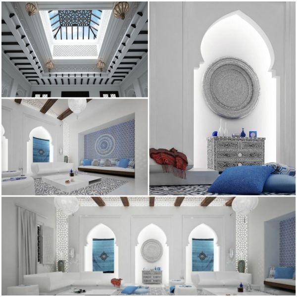 Wohnideen Orientalischer Stil orientalische ornamente und skandinavisches interior design in einer