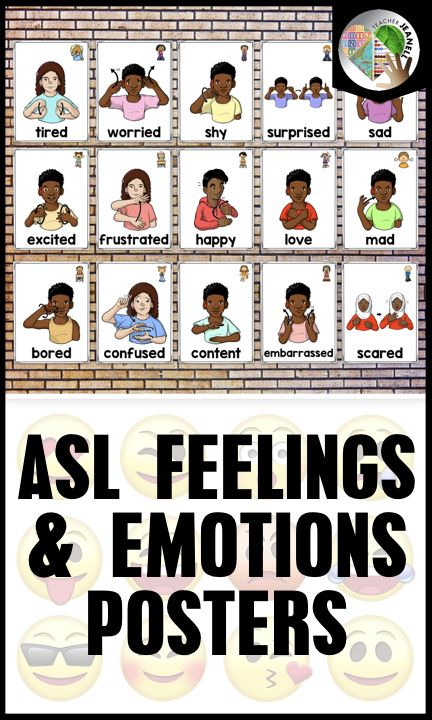 ASL HANGOUT: HOW TO SIGN EMOTIONS! - YouTube  |Sign Language Signs For Emotions