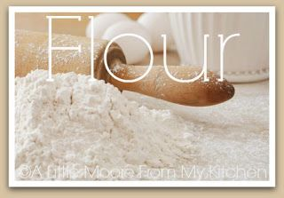 Clean Eating & (mostly) Allergy-Friendly Flours