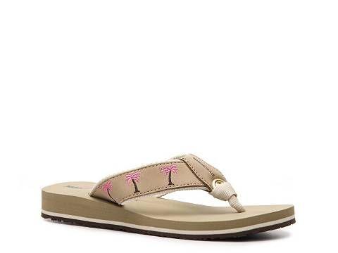 6f3b7e864b27c Margaritaville Women s Breezy Palm Tree Flip Flop Fifty Under  50 Women s  Shoes - DSW