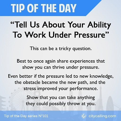 High Quality Interview Question 21   Donu0027t Get Stressed Now! #TipOfTheDay #job #