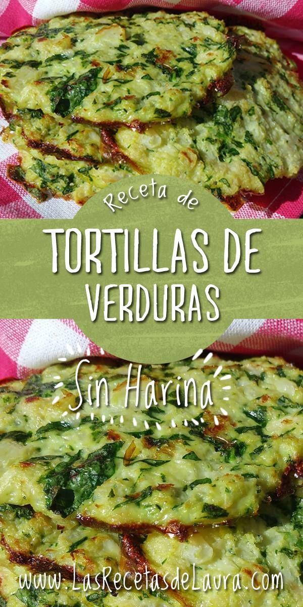 Recetas vegetarianas y sin harina