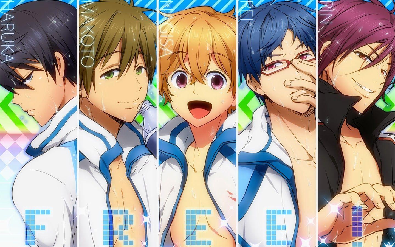 Free Iwatobi Swim Club Makoto Free Iwatobi Swim Club Anime