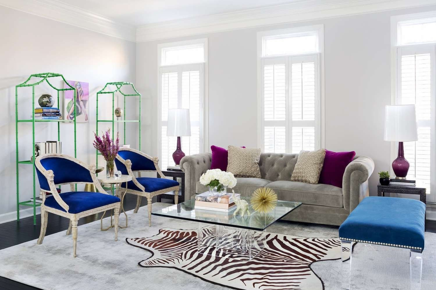 Purple Living Room Accessories Awesome 19 Soothing Cool Color Schemes For Decorating Your Home In 2020 Purple Living Room Living Room Decor Gray Living Room Grey #soothing #living #room #colors