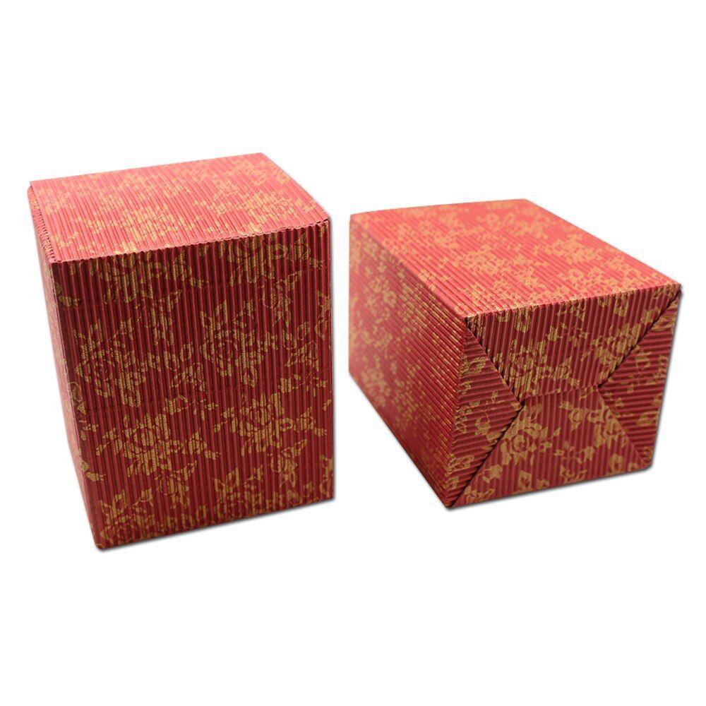 Dhl 200pcs 4 colored small corrugated cardboard paper box