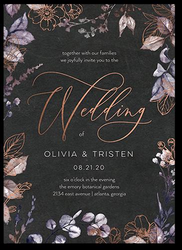 Gleaming Garden 5x7 Stationery Card By Lady Jae Shutterfly In 2021 Garden Wedding Invitations Wedding Invitations Wedding Paper Divas