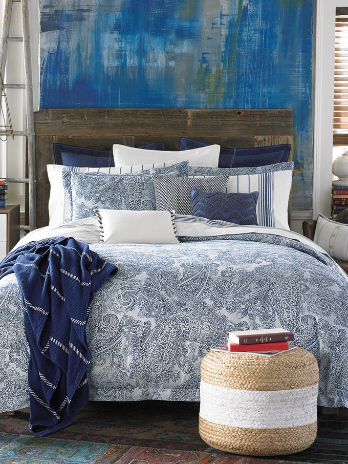 Canyon Paisley Comforter Set From Tommy Hilfiger Bedding
