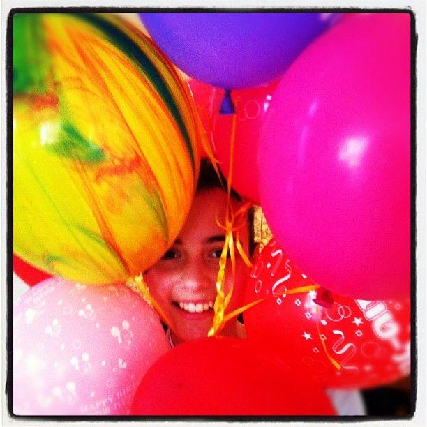 יום הולדת חגיגה נחמדת. שבוע בת מיצווש