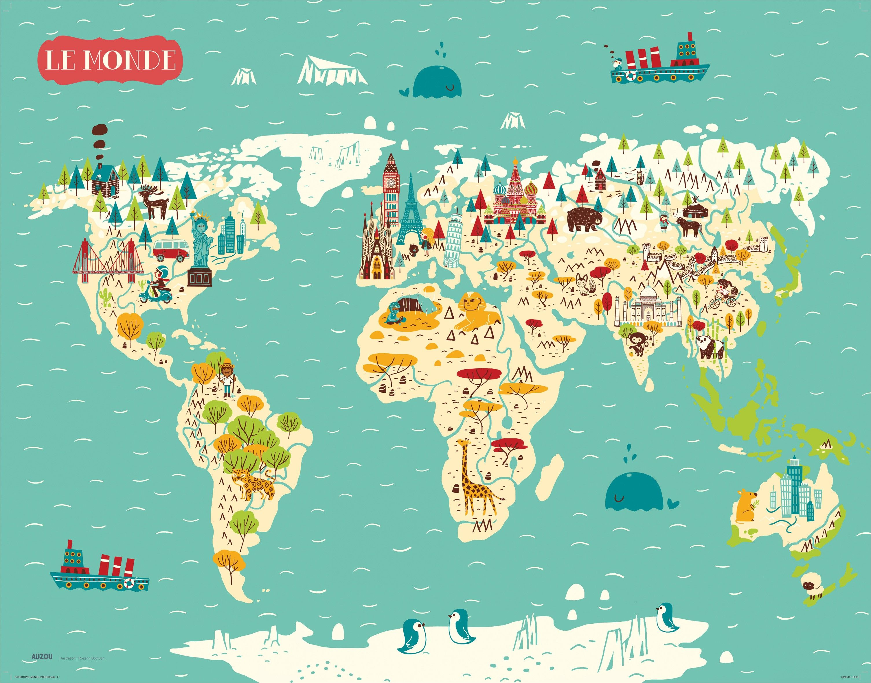 monde recherche google city map illustrator pinterest auzou monuments et le. Black Bedroom Furniture Sets. Home Design Ideas
