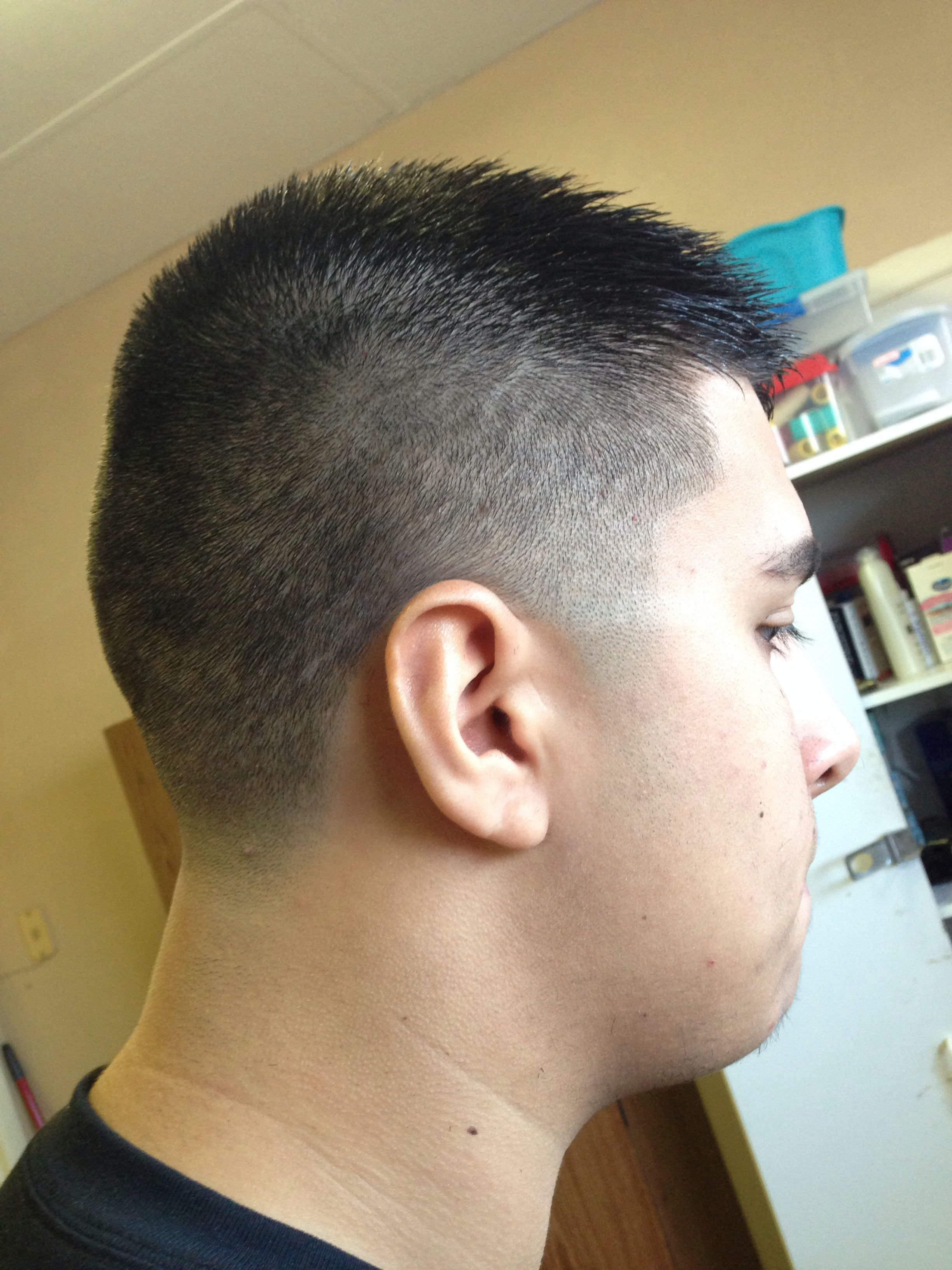 Mens Hair Cut 1 12 High Fade With Taper From Skin My Work