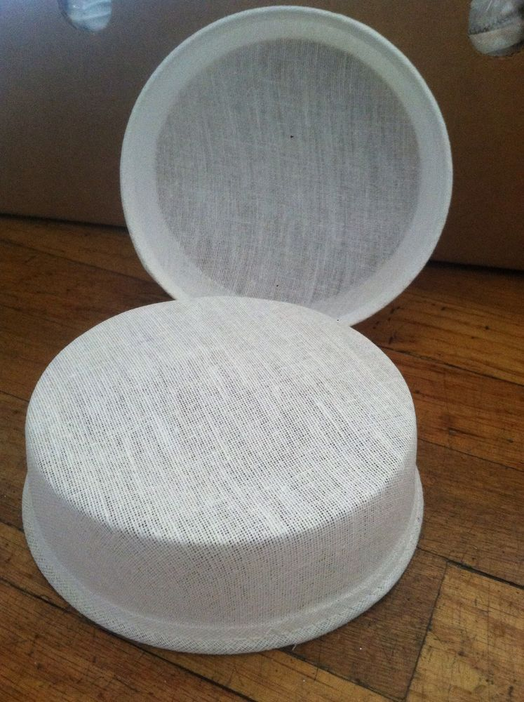Hat Frame Buckram Flat Pill Box Frame Millenary, Hat Base,hat ...