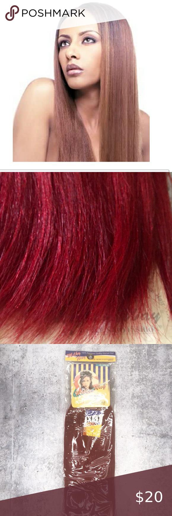Milky Way 100% Human Hair Weave - SPIRAL ROLL 4PCS (8/10