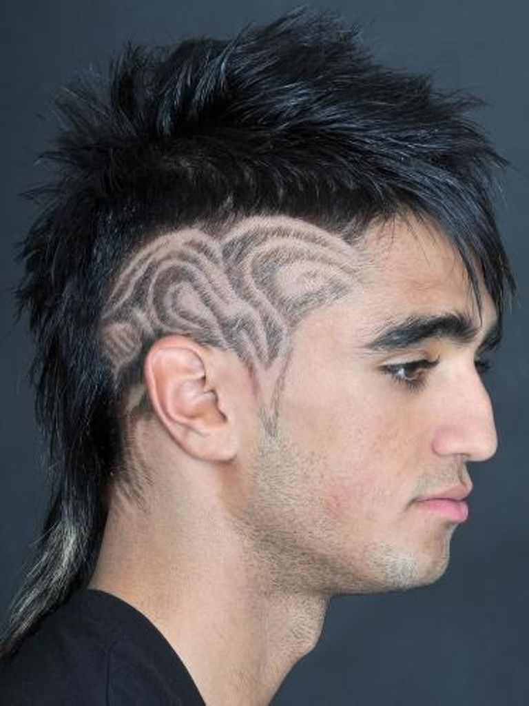 Punk Hairstyles Guys  Long hair styles men, Punk haircut, Rock
