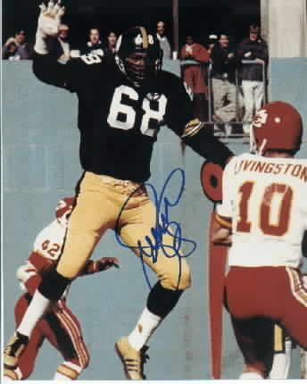 L.C Certified Authentic Greenwood Autographed Pittsburgh Steelers 8x10 Photograph