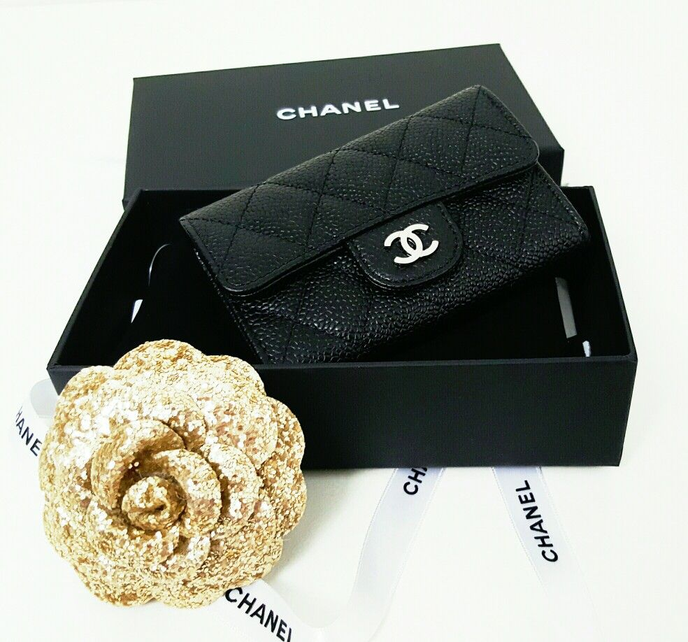 Chanel Flap Card Holder | HOUSE OF CHANEL | Pinterest | Bag ...