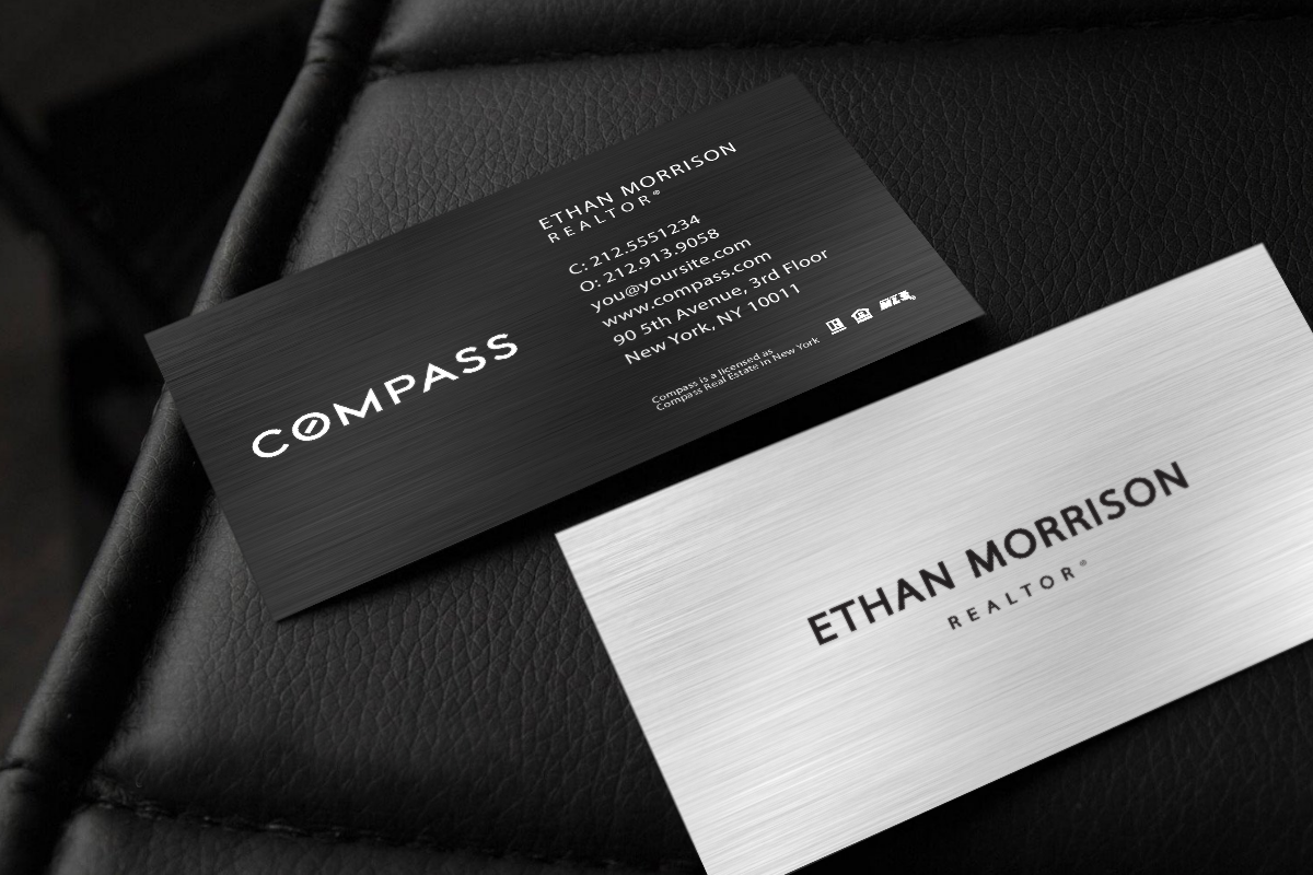 Compass Realtors We Ve Got Your Newest Business Card Realtor Compass Realestate Realtors R Business Cards Online Real Estate Business Cards Real Estate