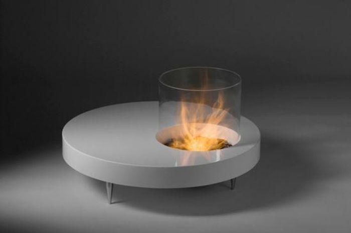 feuerstelle im garten bauen kamin kaffe tisch kamin | diy - do it, Haus und garten