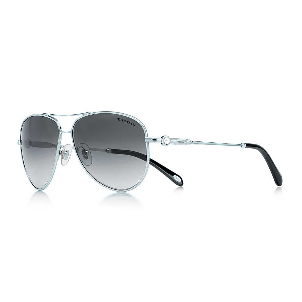fca55c599eb1 Tiffany   Co. Tiffany SunglassesSunglasses ShopCat Eye SunglassesSilver  ColorAviatorsEyewearStyle ...