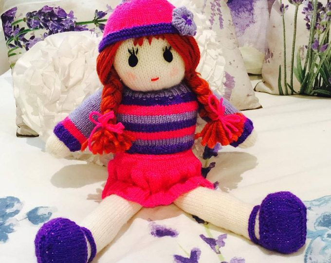 Rag Doll Knitting Pattetn Pinterest Knit Patterns