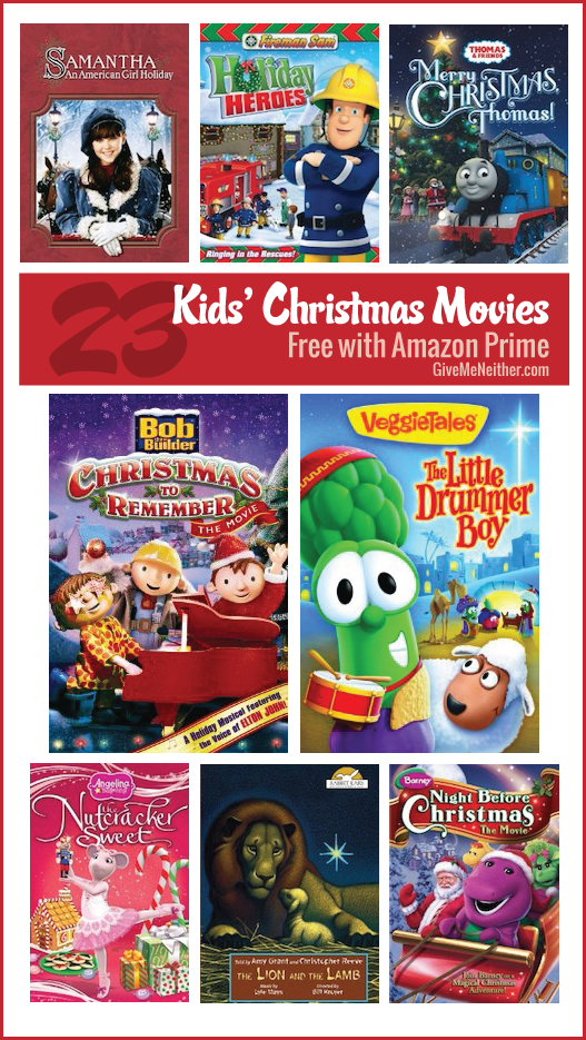 List of Christmas movies for kids free with Amazon Prime ...
