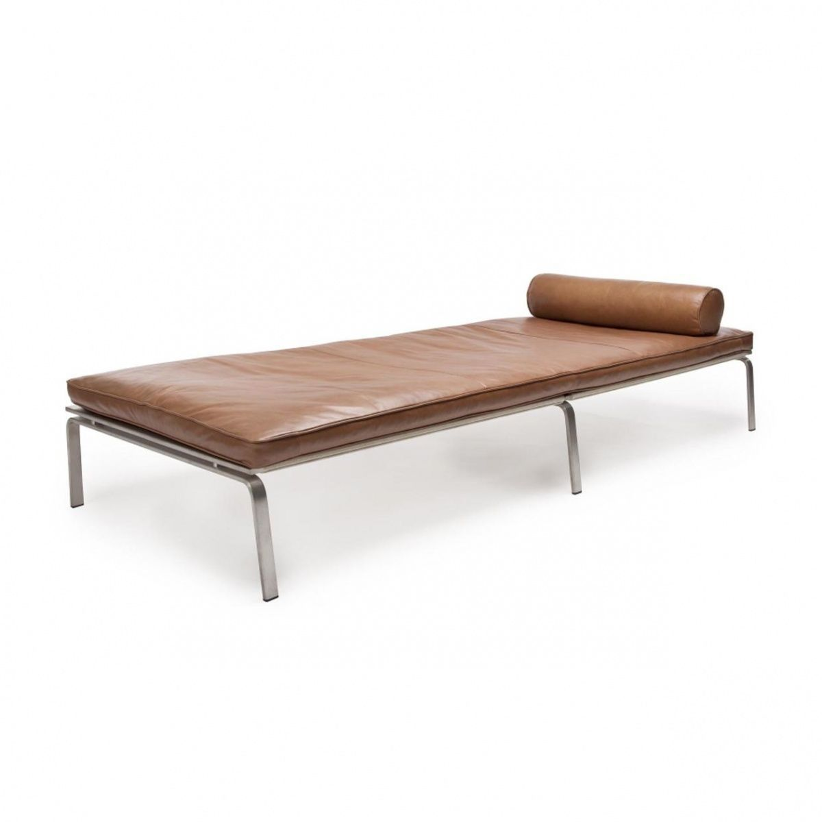 Norr 11 Man Lounge Daybed Liege Cognac Braun Geb Rstet Leder  # Foxy Muebles Y Objetos